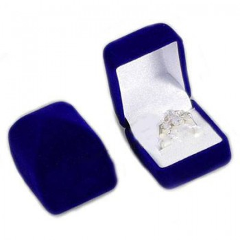 Modrá krabička na prstýnek