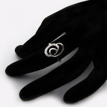 Módní stříbrný prsten (KPS160)