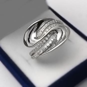 Stříbrný prsten (KPS166)