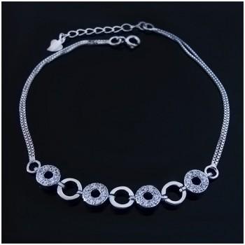 Stříbrný dámský náramek (KNZS049)