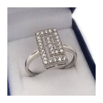 Stříbrný prstýnek KPS100