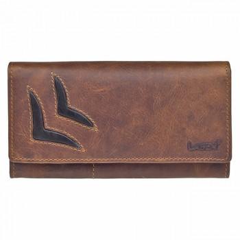 Dámská kožená peněženka (GDP018)