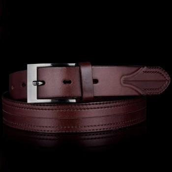 Kožený pásek k obleku (GP33)