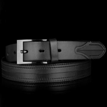 Kožený pásek k obleku (GP34)