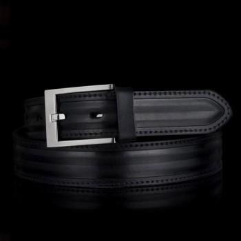 Kožený pásek k obleku (GP035)