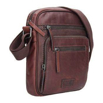 Pánská kožená taška přes rameno (GT8)