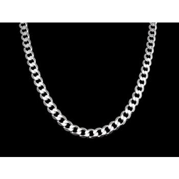Stříbrný řetízek (KRS024)