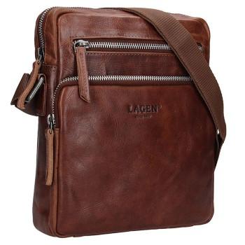 Pánská kožená taška přes rameno (GT24)