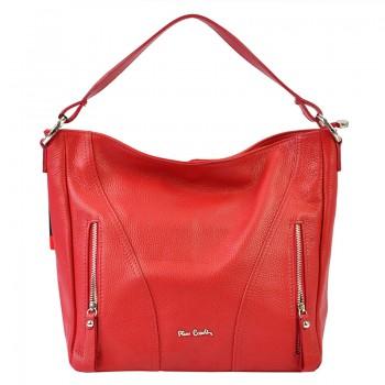 Značková kožená kabelka Pierre Cardin (GK45)