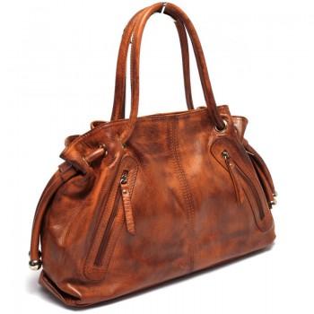 Luxusní kožená kabelka (GK55)