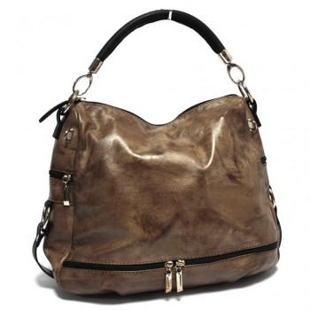 Luxusní kožená kabelka (GK62)