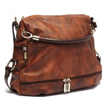 Luxusní kožená kabelka (GK63)