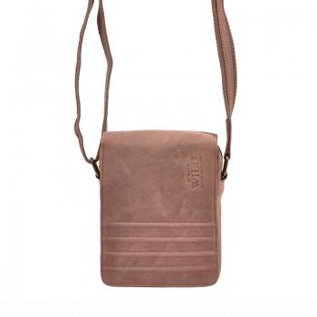 Pánská kožená taška crossbody (GT69)
