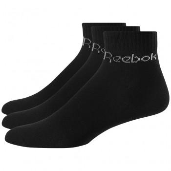 Černé kotníkové ponožky Reebok (GPP3)