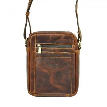 Pánská kožená taška přes rameno (GT103)
