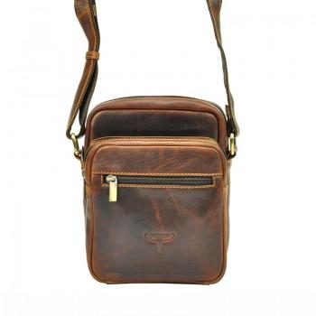 Pánská kožená taška přes rameno (GT104)