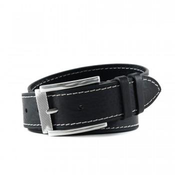 Značkový pánsky kožený pásek Hoffebelts (GP229)