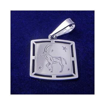 Stříbrný přívěsek-znamení kozoroh