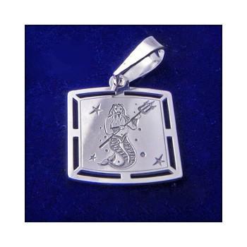 Stříbrný přívěsek-znamení Vodnář