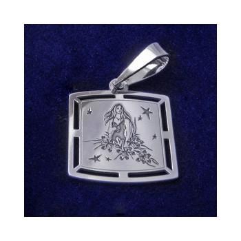 Stříbrný přívěsek-znamení panna