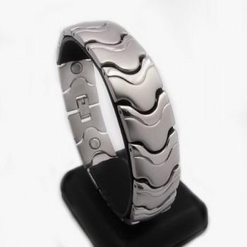 Pánský náramek z chirurgické oceli (KN65)