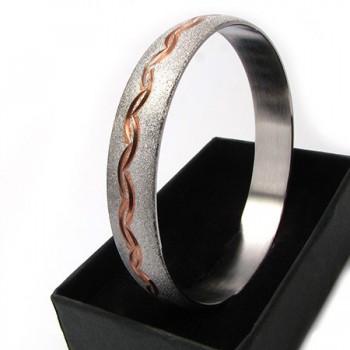 Dámský náramek z chirurgické oceli (KND79)