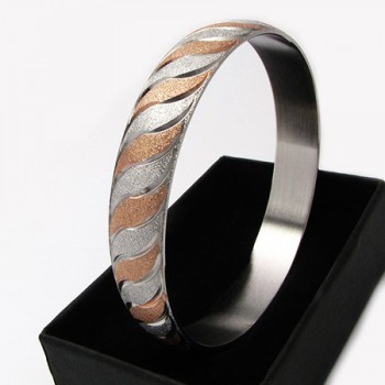 Dámský náramek z chirurgické oceli (KND80)