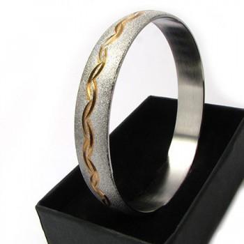 Dámský náramek z chirurgické oceli (KND85)