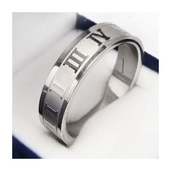 Prsten z chirurgické oceli (KP3)