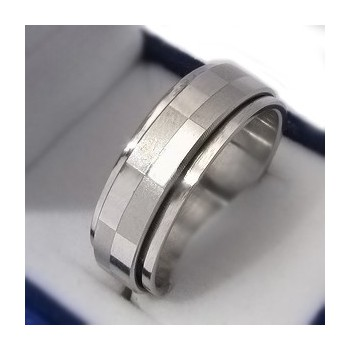Prsten z chirurgické oceli (KP9)