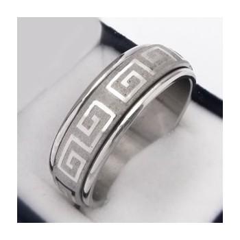 Prsten z chirurgické oceli (KP10)