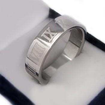 Prsten z chirurgické oceli (KP12)
