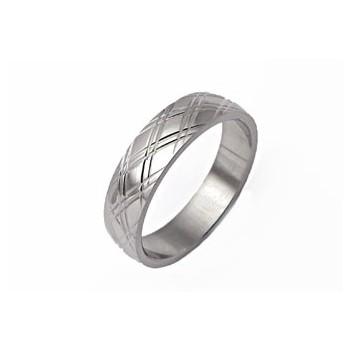 Prsten z chirurgické oceli (KP18)