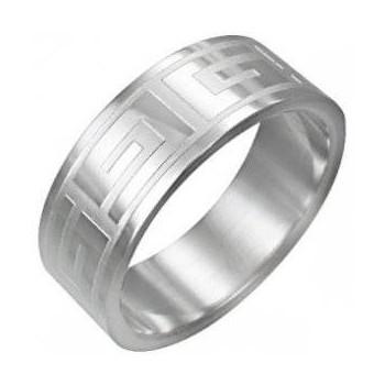 Prsten z chirurgické oceli (KP19)