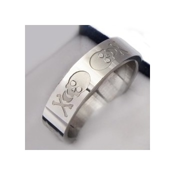 Prsten z chirurgické oceli (KP21)