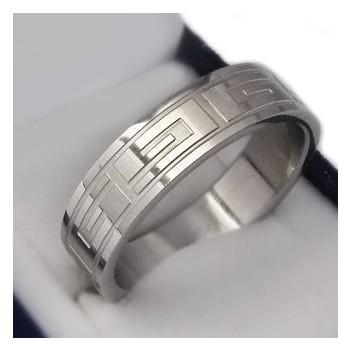 Prsten z chirurgické oceli (KP24)