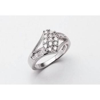 Stříbrný prsten KPS010