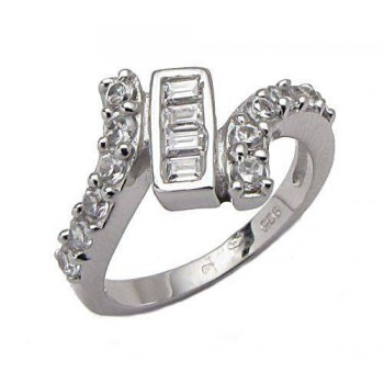 Stříbrný prsten KPS034