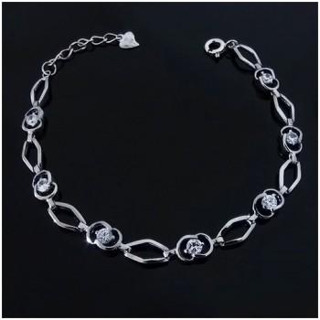 Dámský stříbrný náramek (KNZS046)