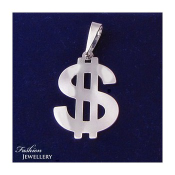 Stříbrný přívěsek dolar (KPRS154)