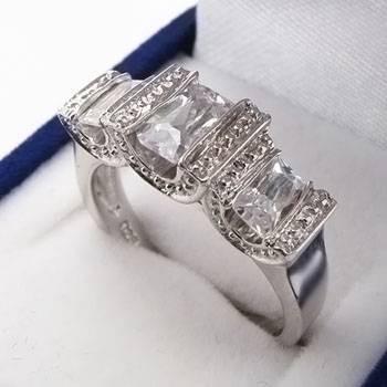 Stříbrný prsten KPS068