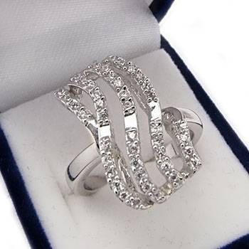 Stříbrný prsten KPS072