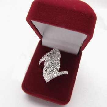 Stříbrný prsten KPS103