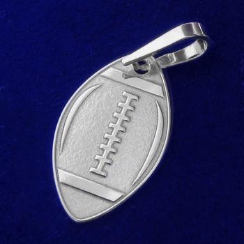Stříbrný přívěsek ragbyový míč (KPRS075)