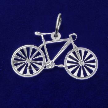 Stříbrný přívěsek kolo (KPRS084)